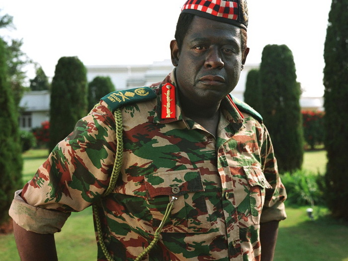 Президент Уганды Иди Амин, один из наиболее циничных и бесчеловечных правителей./Фото: historytime.ru