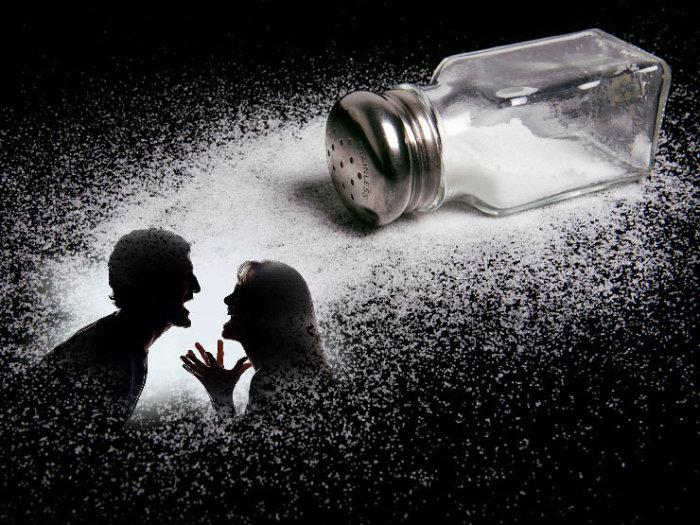 Рассыпать соль – к ссоре./Фото: belarus-news.eu