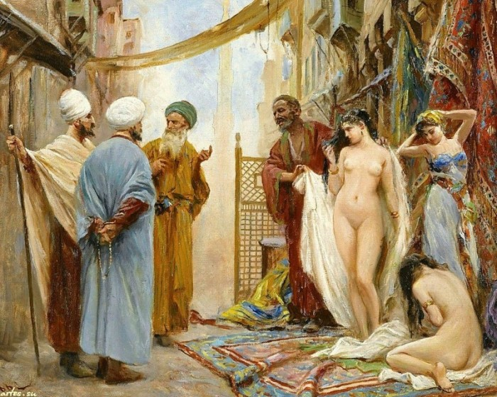 Один из крупнейших в мире был рынок рабов в Риме. В Древнерусском государстве такие рынки не действовали. /Фото: img-fotki.yandex.ru