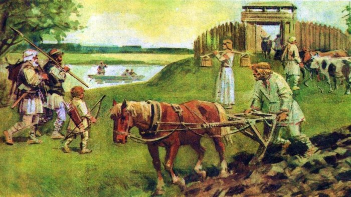 Рабов на Руси не калечили и хорошо кормили. /Фото: web-kapiche.ru