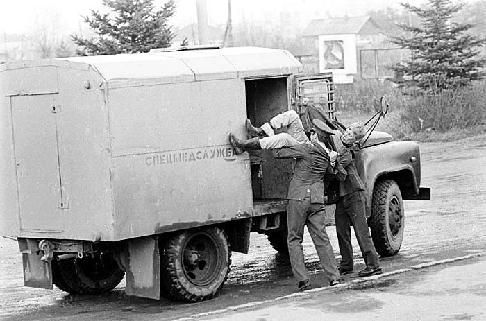 Советские вытрезвители