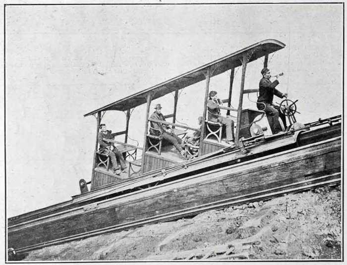 Фуникулер 1880 года./Фото: www.grandvoyageitaly.com