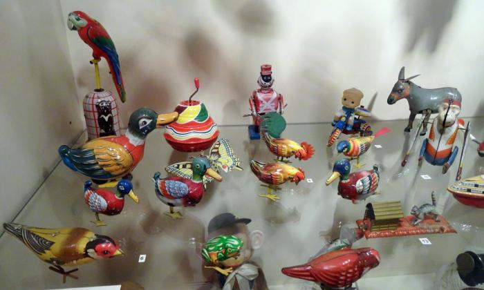 Немецкие и японские механические игрушки из коллекции Санкт-Петербургского музея игрушки./Фото: p3.citywalls.ru