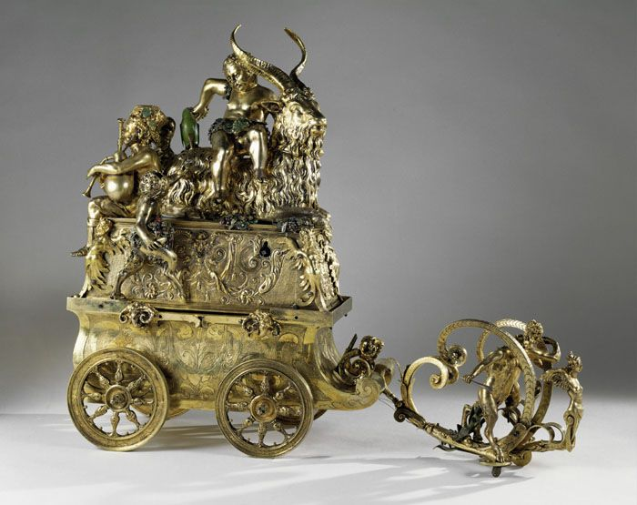 «Триумф Бахуса». Германия, начало XVII века. Вена, дворец Хофбург, Сокровищница Габсбургов./Фото: i.pinimg.com