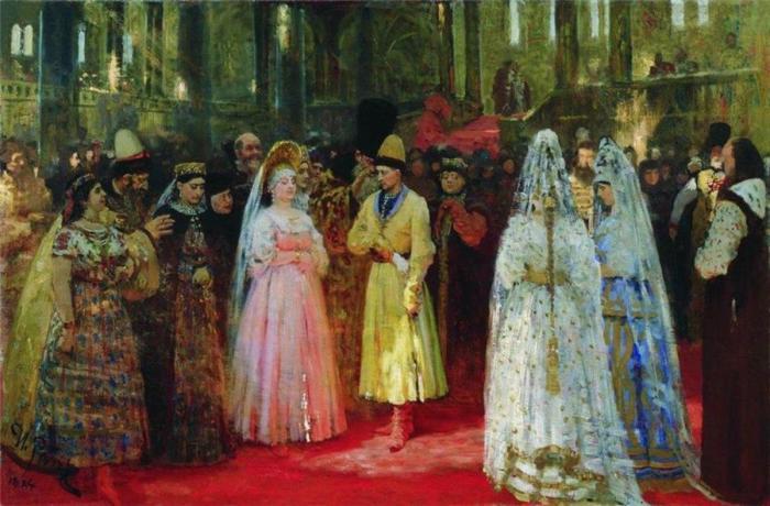 Илья Репин. Выбор великокняжеских невест, 1887 год.