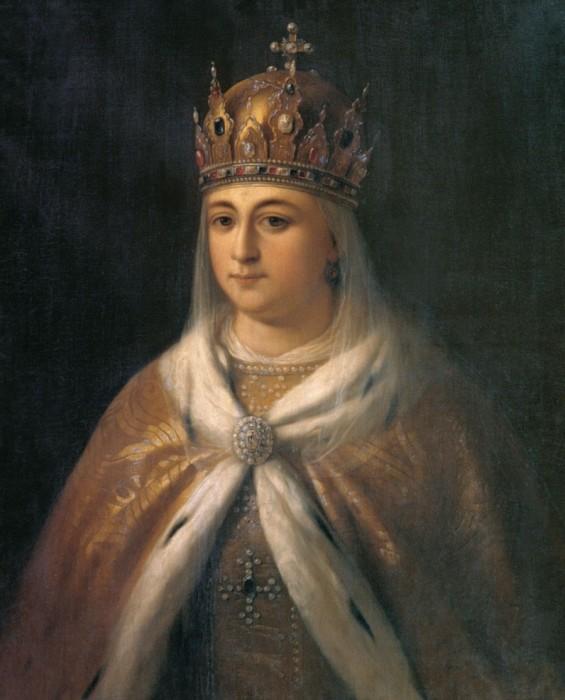 Евдокия Стрешнёва, портрет.