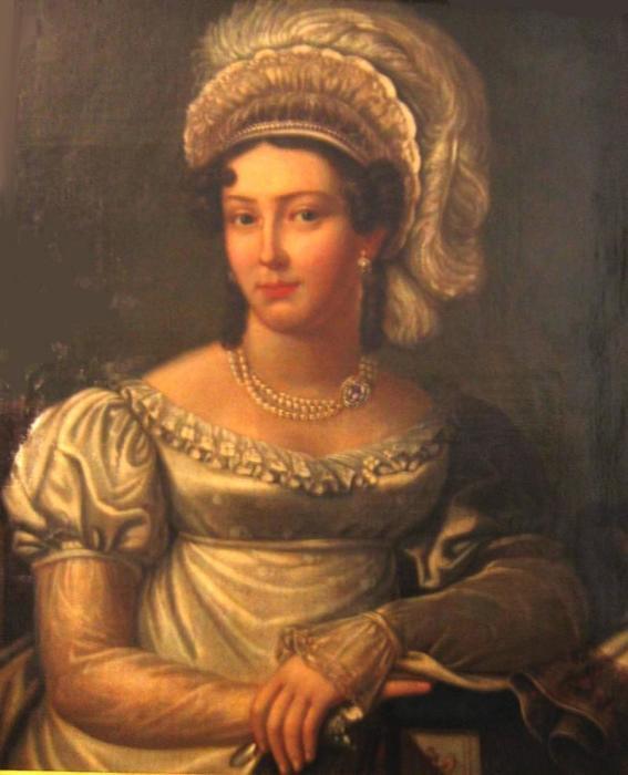Жанетта Грудзинская, неизвестный художник.