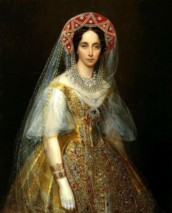 Императрица Мария Александровна, в девичестве Мария-София Дармштадская.