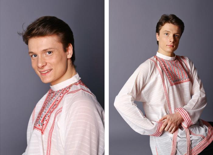 Мужчина в национальном костюме. /Фото: liveinternet.ru