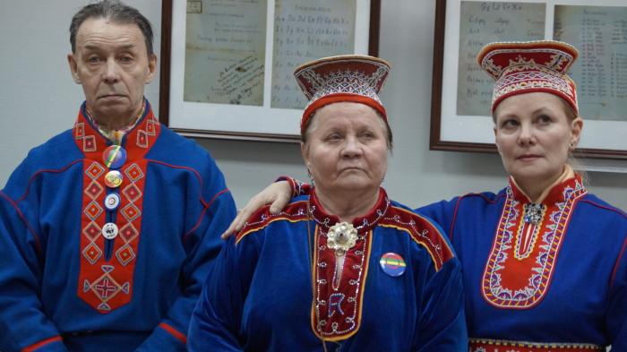 Кольские (российские) саамы./Фото: news.vmurmanske.ru