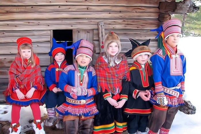 Юные саамы./Фото: avatars.mds.yandex.net
