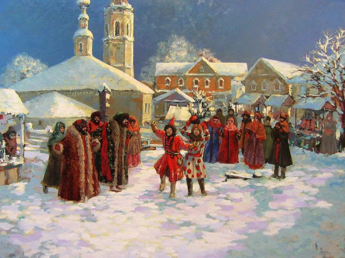 Несмотря на гонения церкви скоморохи были любимцами знати./Фото: b1.culture.ru