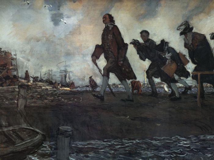 Одной из европейских идей Петра I стала голландская сельдь./Фото: artchive.ru
