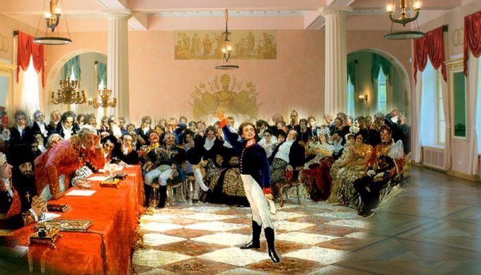 Царскосельские будни лицеистов./Фото: gym1505.ru