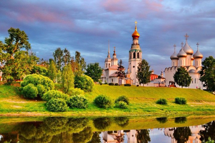 Вологда – Северная Фиваида, центр раннехристианского монашества./Фото: pbs.twimg.com