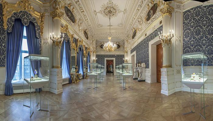 Дворец И. И. Шувалова в Санкт-Петербурге. Синяя гостиная./Фото: fabergemuseum.ru