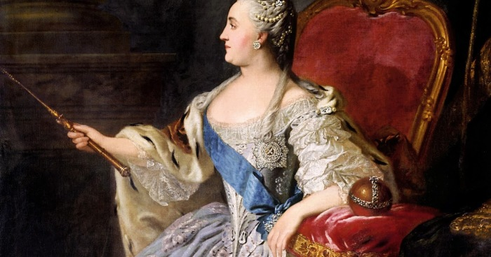 Екатерина II курила каждый день./Фото: images.aif.ru