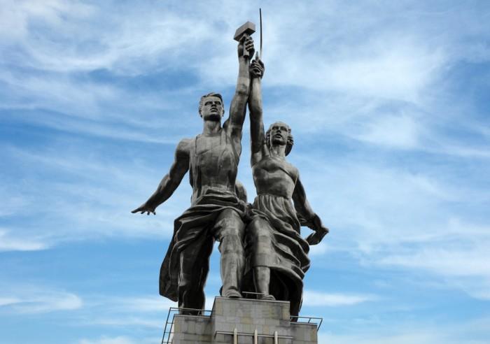 Символ колхозного хозяйства и рабочего класса./Фото: kudago.com