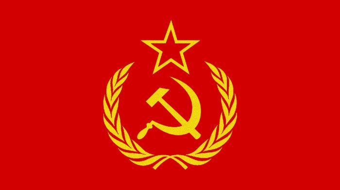 «Серп и Молот» олицетворяли единение рабочего класса и крестьян./Фото: w-dog.ru