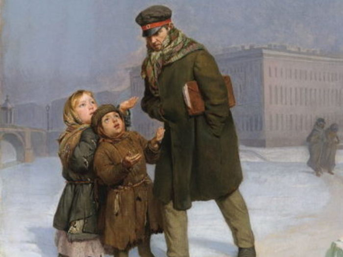 Журавлев Ф.С., «Дети-нищие».