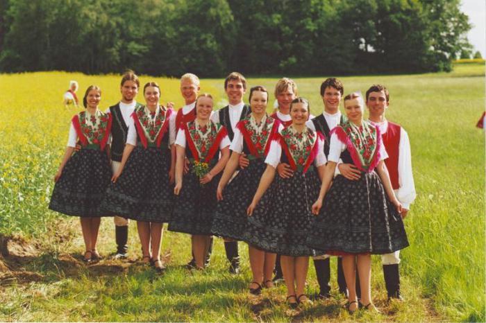 Лужичане проживают в восточной Германии, на границе с Чехией./Фото: fb.ru