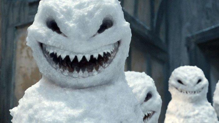 В старину снеговики могли олицетворять не только добро, но и зло./Фото: www.travelnews24.ru