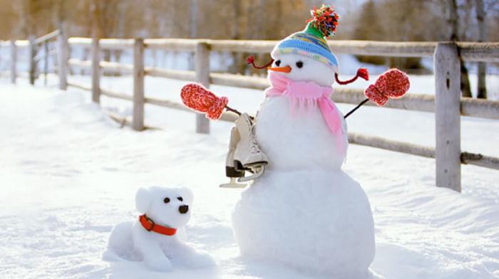 Сегодня снеговики – это забавные и веселые снежные герои./Фото: vtemu.by