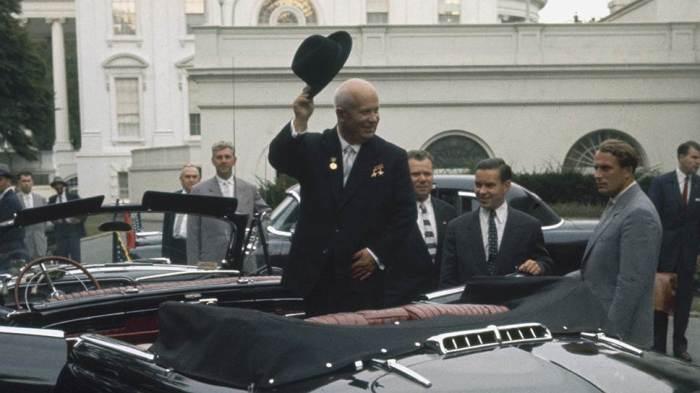 Визит Хрущёва в США – «коммуниста номер один» в «логово» империализма./Фото: im5.kommersant.ru