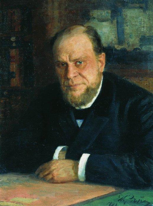 И. Я. Репин. «Портрет А. Ф. Кони». 1898 год.