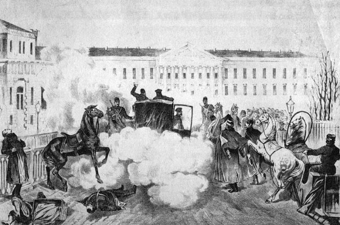 Убийство Александра II./Фото: upload.wikimedia.org