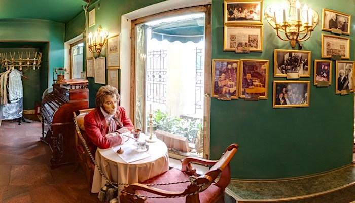 В кафе «Вольфа и Беранже» А.С.Пушкин провел последние часы перед роковой дуэлью./Фото:godliteratury.ru