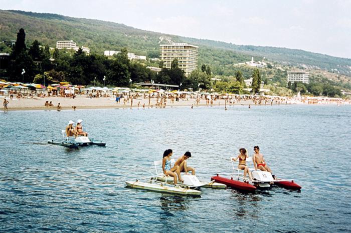 Болгария. На курорте «Золотые пески». 1976 год./Фото: moslenta.ru
