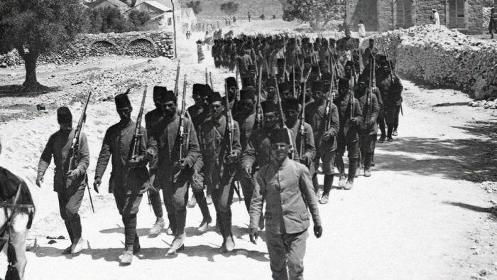 Турецкая армия в 1918 году./Фото: img.gazeta.ru