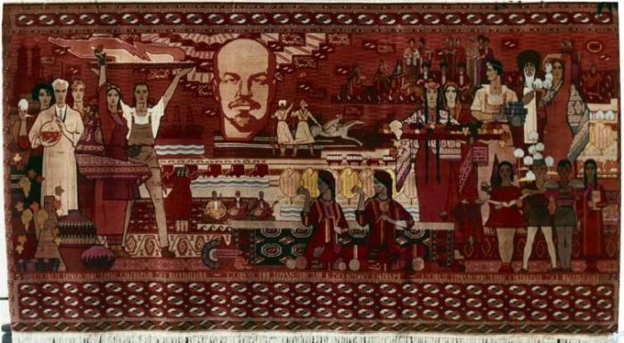 Ковер «Советский Туркменистан»./Фото: strana.lenta.ru