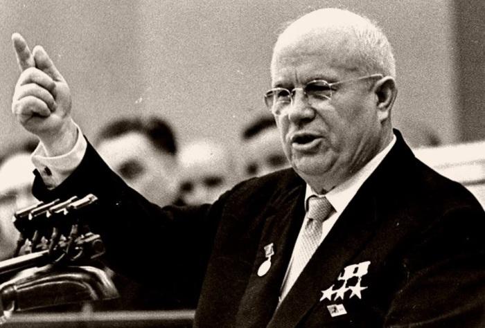 Никита Сергеевич Хрущёв – генеральный секретарь ЦК КПСС с 1953 по 1964 гг./Фото: avatars.mds.yandex.net
