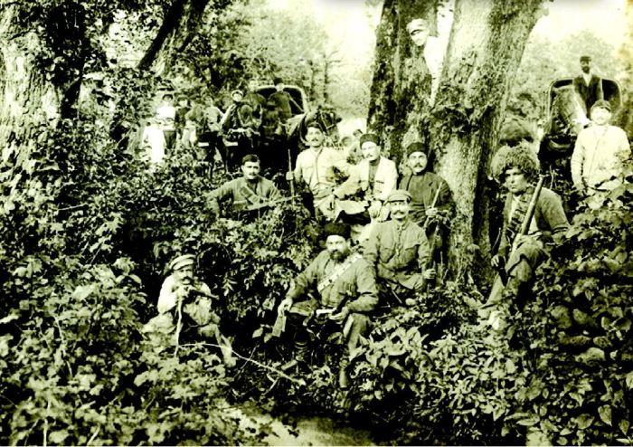 Лидеры восстания в Грузии./Фото: upload.wikipedia.org