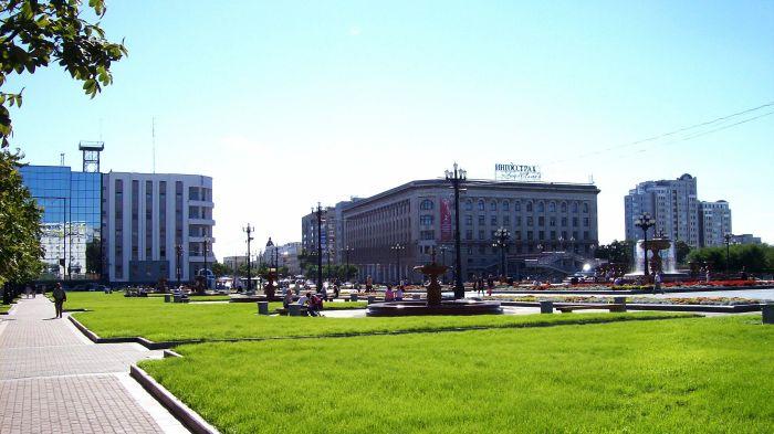 Высшая партийная школа в Хабаровске./Фото: upload.wikimedia.org
