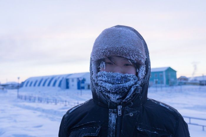 Зимнее «обмундирование» жителя Верхоянска./Фото: btnews.me