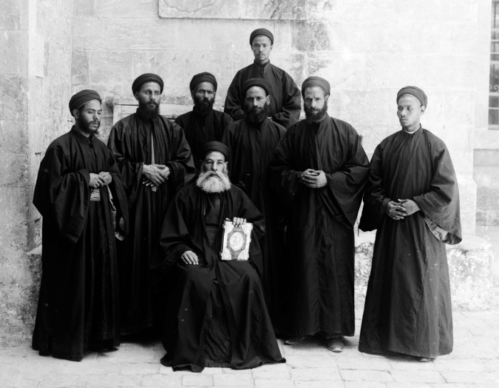 Коптские монахи, фото рубежа 19–20 веков