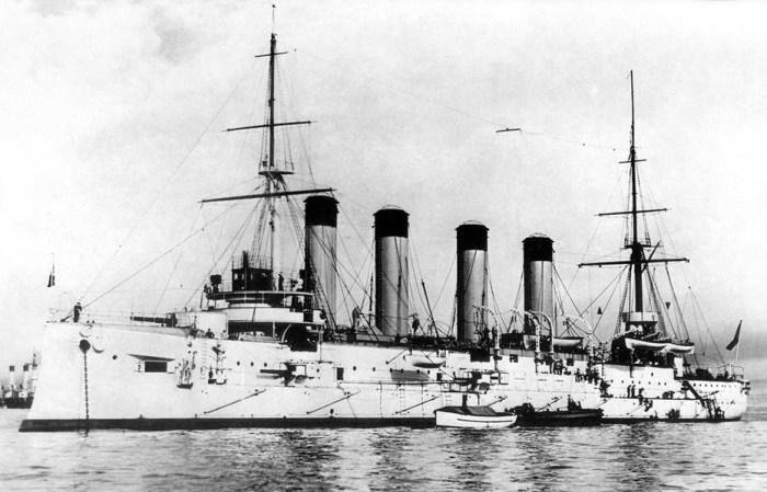 Крейсер «Баян», начало XX века