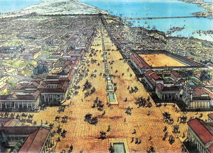Древняя Александрия – столица греческого Египта