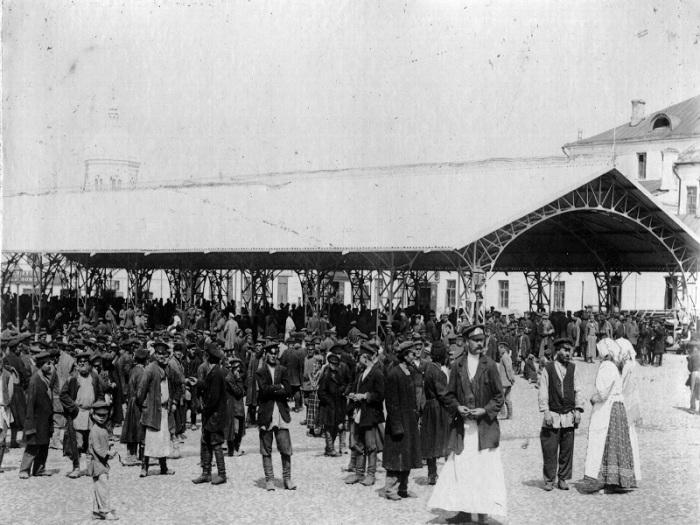 Здесь и далее – старые фотографии московской Хитровки