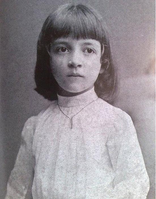 Луиза Казати в детстве./Фото: m.darboga.ru