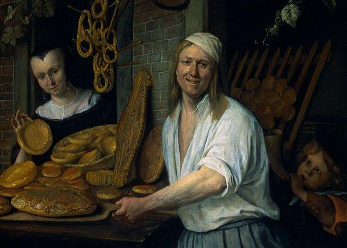 Фрагмент картины «Пекарь Аствард и его жена Катарина»./ Фото: curiator.com