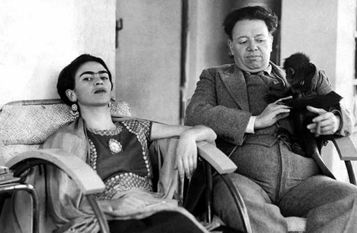 Диего Ривера и Фрида Кало.