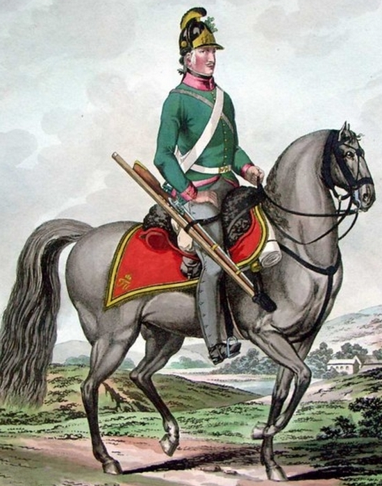 Австрийский кавалерист./Фото: capgrey.ru