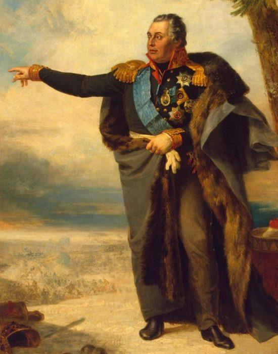 Портрет Михаила Илларионовича Кутузова, худ. Джордж Доу, 1829 год./Фото: aeslib.ru
