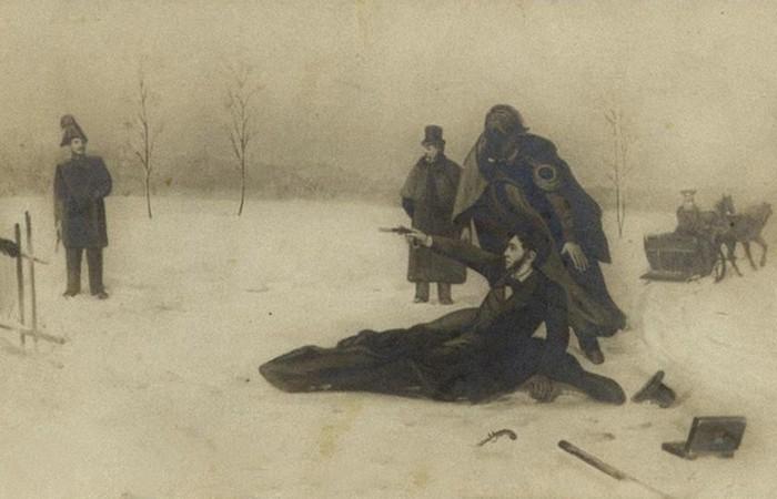 Дуэль на Черной речке./ Фото: heroes-arms.ru