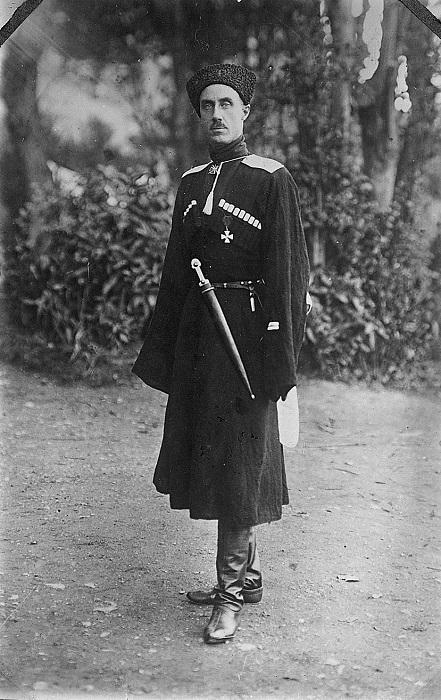 Генерал Врангель в 1921 году.