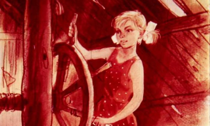 Гайдар сделал Женю в книге старше, чтобы она играла с Тимуром на равных